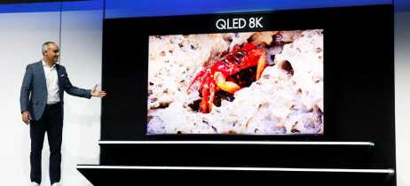 Confira as TVs QLED de 8K no estande da Samsung na CES 2019!