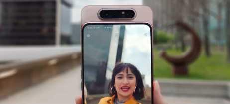 A Samsung fez diferente! Conheça o Galaxy A80, smartphone com câmera giratória