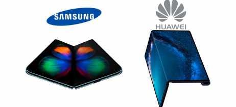 Executivo da Samsung fala sobre as vantagens do design do Galaxy Fold sobre o Mate X