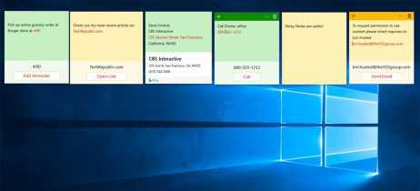 Sticky Notes do Windows 10 terá integração com Android e iOS em breve