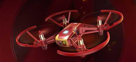 Fã do Homem de Ferro? DJI e Ryze lançam o drone Tello Iron Man Edition