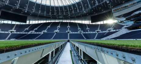 Veja as inovações tecnológicas dos estádios de Tottenham e Santiago Bernabéu do Real Madrid