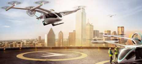 EmbraerX revela seu modelo de aeronave para projeto de Uber voador