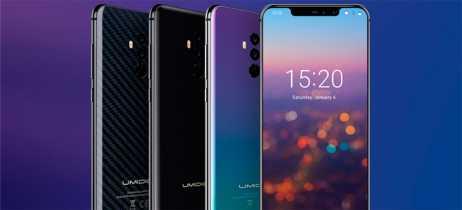 Umidigi revela data de início das vendas do smartphone Z2 Pro com acabamento em cerâmica