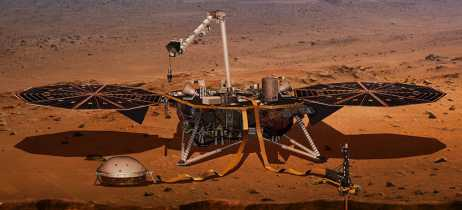 Primeiro instrumento da sonda InSight da NASA é instalado em Marte