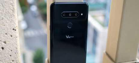 LG V40 ThinQ é apresentado com cinco câmeras, duas na frente e três na traseira