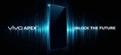Vivo Apex é um smartphone conceito com uma tela que ocupa 98% da área frontal