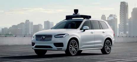 Uber e Volvo apresentam protótipo totalmente autônomo do SUV XC90