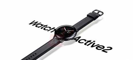 Samsung Galaxy Watch Active 2 aparece em imagem promocional [Rumor]