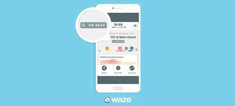 Waze agora será capaz de dizer o valor total do pedágio que o usuário deverá pagar