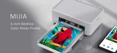 Xiaomi lança mini-impressora Mijia Photo Printer por menos de US$ 100