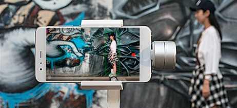 Análise em vídeo do Xiaomi Mijia Gimbal, estabilizador de filmagem que concorre com o DJI Osmo Mobile 2