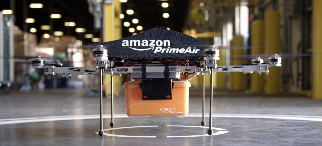 Recurso de vigilância para drones da Amazon revelado em patente causa polêmica
