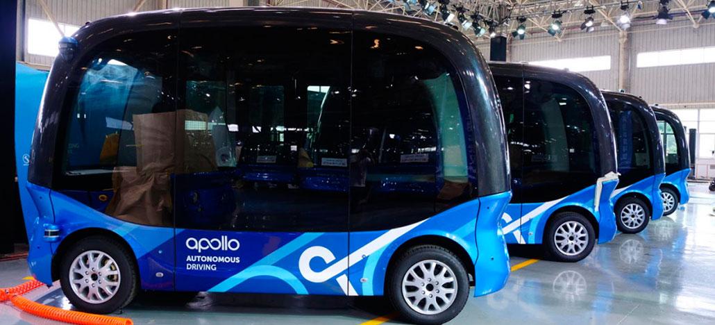 Ônibus autônomos Apolong da Baidu vão circular no Japão a partir de 2019