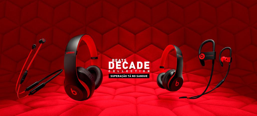 Beats by Dr. Dre comemora 10 anos com fones Decade Collection
