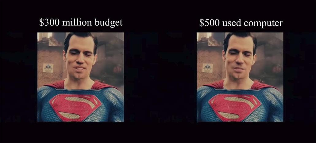 Inteligência artificial apaga bigode de Superman e supera equipe de efeitos visuais do filme