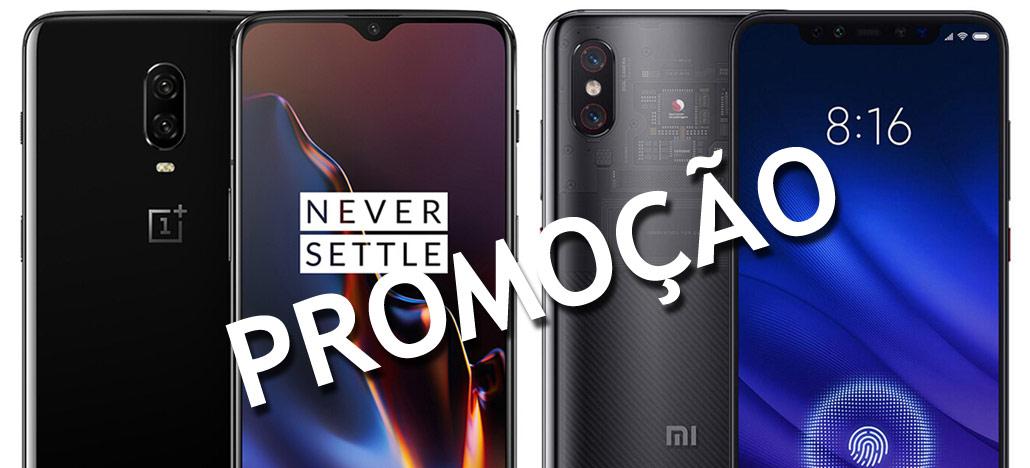 Promoções Black Friday: Xiaomi Mi Band 3 US$ 20,79, OnePlus 6T US$524,99, Xiaomi Mi 8 Pro US$499,99 e mais [ATUALIZADO]