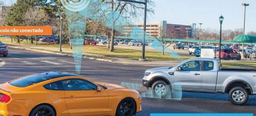 Ford anuncia lançamento de carros com tecnologia C-V2X para 2022