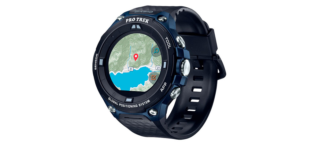 Casio anuncia novo smartwatch Pro Trek com Android Wear OS
