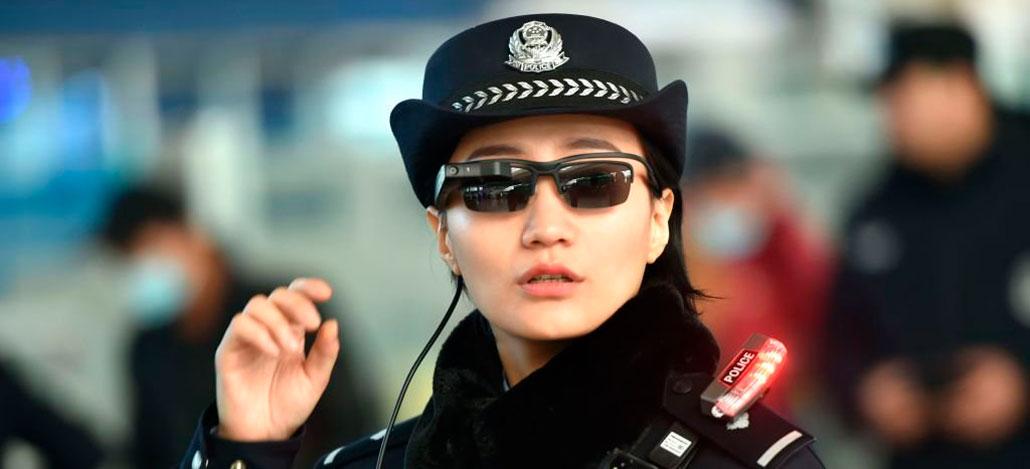 Polícia chinesa usa óculos com reconhecimento facial para identificar  criminosos 4fb0644312