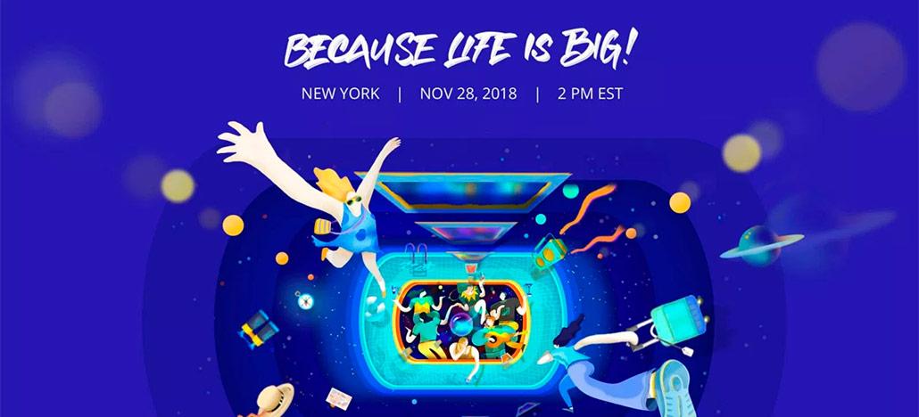 DJI marca novo evento para o dia 28 de novembro - possível lançamento do Phantom 5