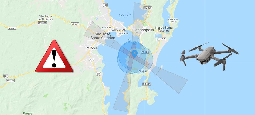 O que é e como funciona o DJI NFZ (No Fly Zone)?