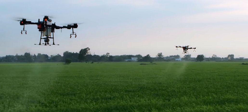 [+Update] DJI T16 é um novo drone para agricultura exclusivo da China