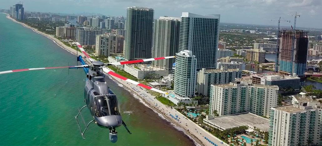 Drone quase é atingido por helicóptero durante voo, veja o vídeo