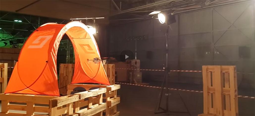 Drone autônomo consegue completar percurso mesmo com obstáculos alterados