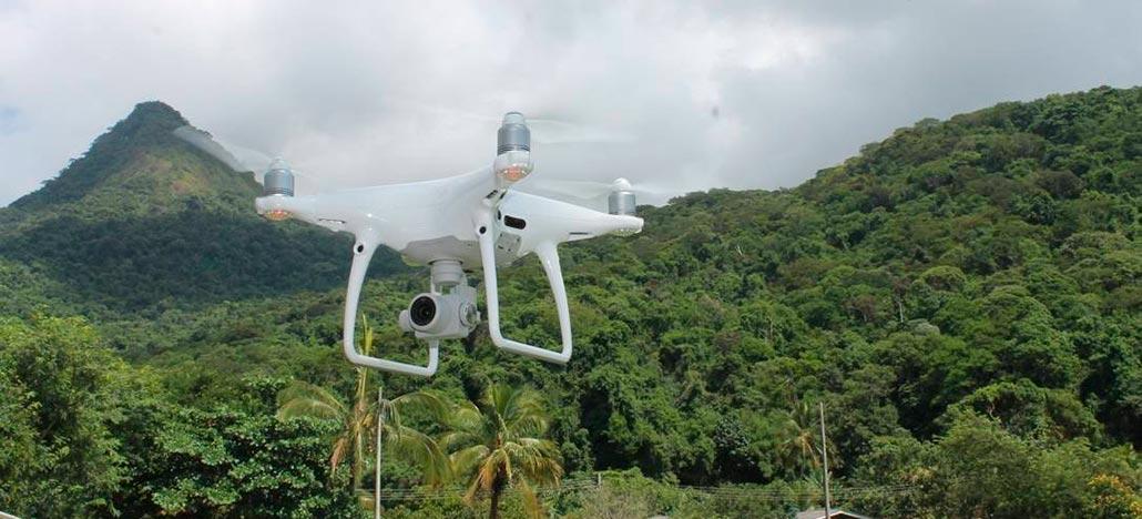 Drones com tecnologia LIDAR ajudam na restauração florestal da Mata Atlântica