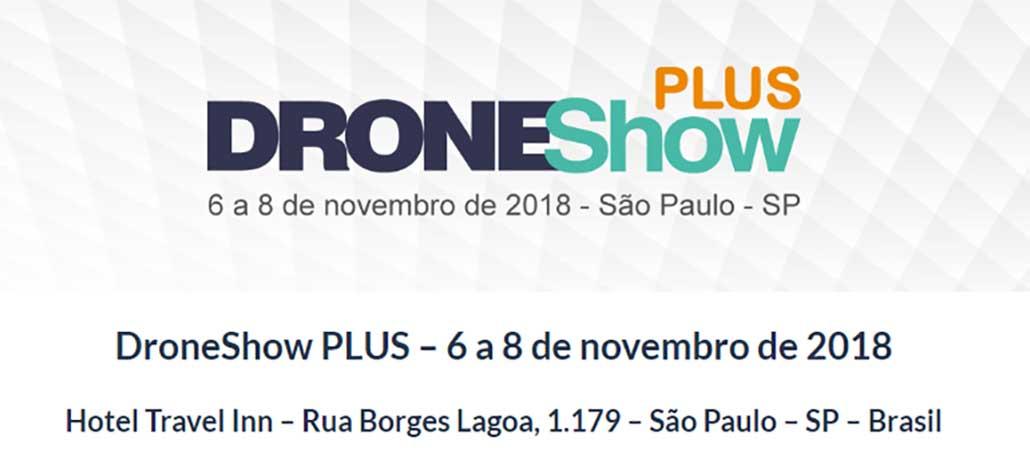 São Paulo vai receber a DroneShow Plus em setembro