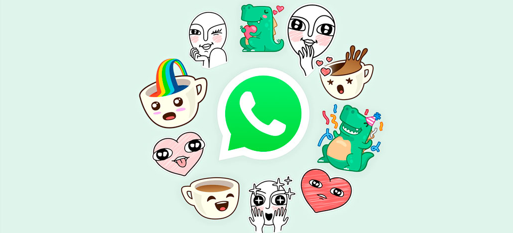 WhatsApp está disponibilizando figurinhas para usuários se comunicarem