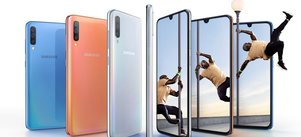 Samsung Galaxy A70 estreia Snapdragon 665 e traz leitor de digitais sob a tela