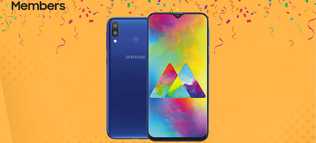 Samsung realiza pré-venda dos smartphones intermediários Galaxy M10, M20 e M30