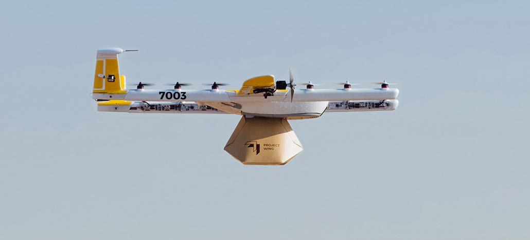 Wing Aviation é o projeto da Google de entregas via drones