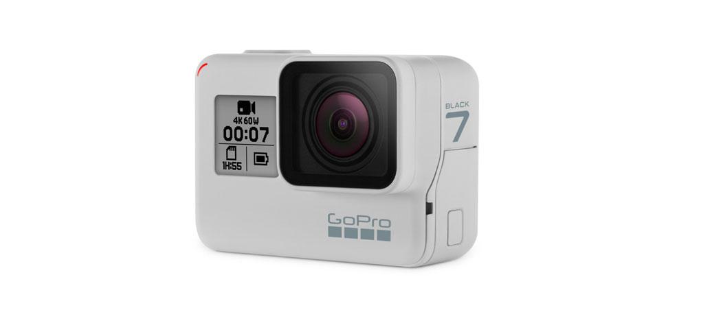 Versão branca da GoPro Hero7 Black chega ao Brasil em 3 de março