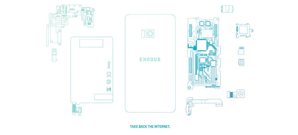 Exodus é o smarphone blockchain da HTC que será lançado ainda este ano