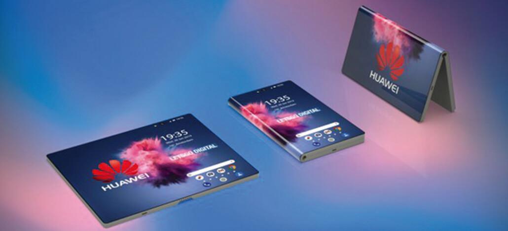 Huawei mostra seu primeiro smartphone dobrável em convite para o MWC 2019
