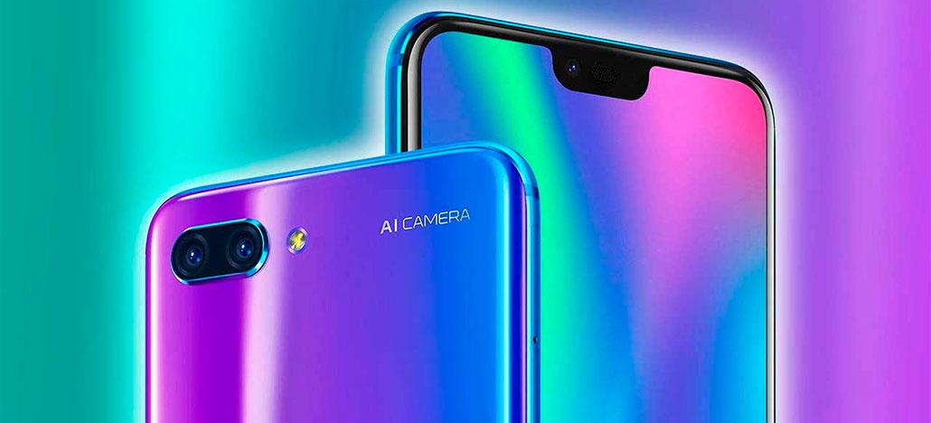 Huawei faz o lançamento global do Honor 10 na Europa e já começa sua venda