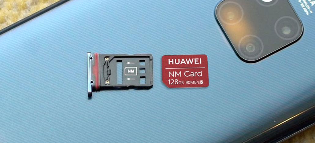 Cartões NM da Huawei são testados e têm desempenho similar aos