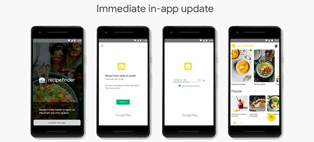 Android permitirá que apps sejam atualizados enquanto estão abertos
