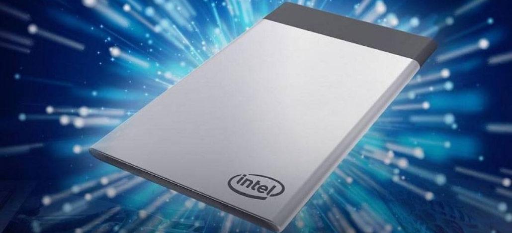 Intel desiste dos Compute Cards e vai encerrar sua produção em 2019