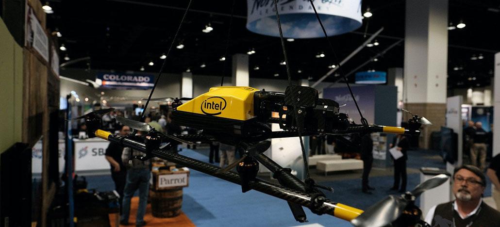 Intel atualiza tecnologias de drones com gerenciamento de dados e planejamento de voos