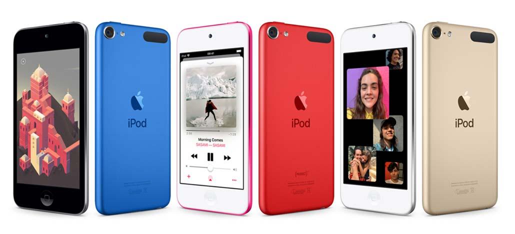 Novo Apple iPod Touch chega com processador do iPhone 7 e até 256GB
