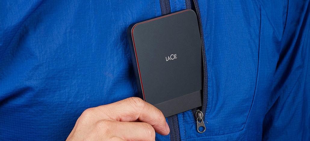 LaCie Portable é o novo SSD portátil de alta velocidade com conexão USB-C