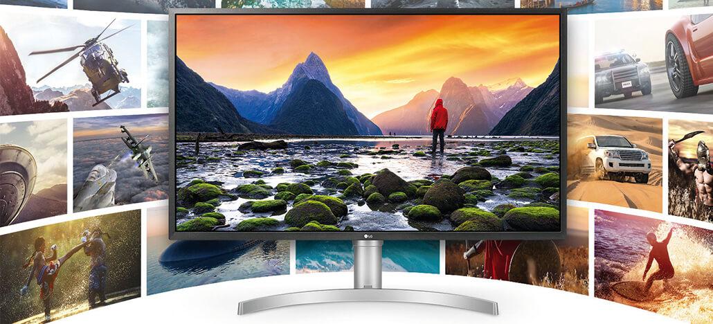LG lança o 32UL750-W: monitor 4K de 32 polegadas com DisplayHDR 600 e USB-C
