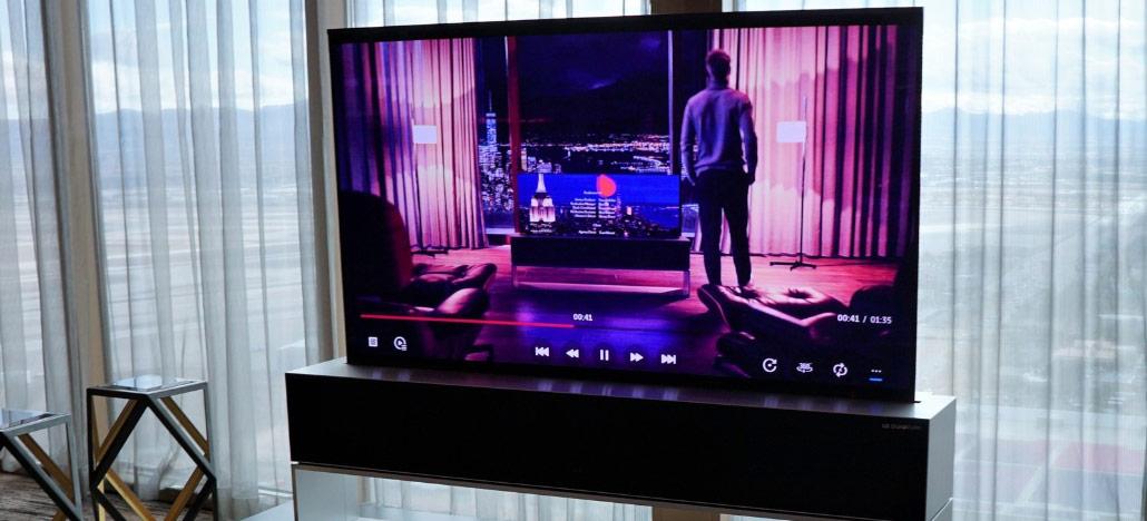 LG apresenta oficialmente a Signature OLED TV R, sua primeira Smart TV