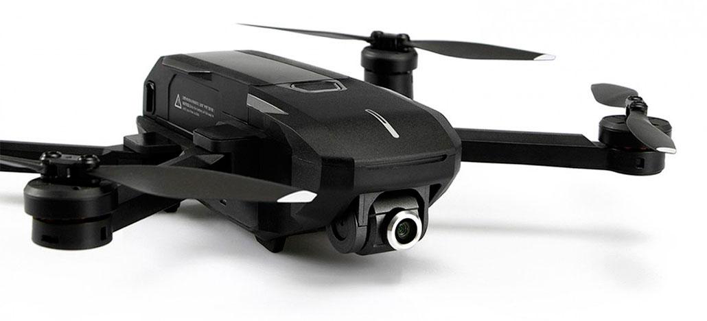 Yuneec apresenta drone portátil Mantis Q com suporte a comandos de voz