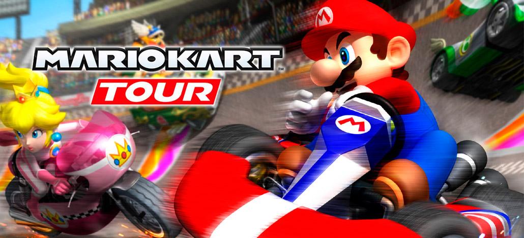 Nintendo confirma versão beta de Mario Kart Tour exclusiva para Android nos EUA e Japão