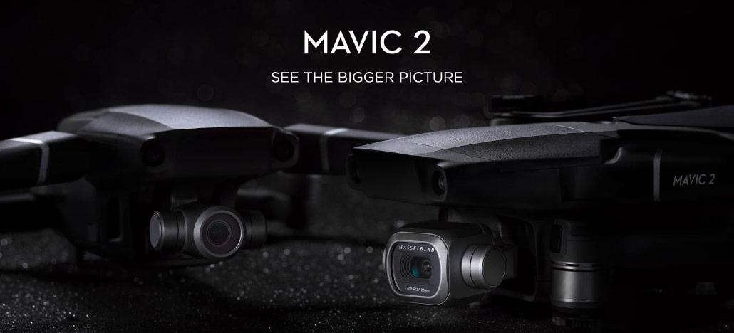 Update de firmware para o Mavic 2 Pro e Zoom traz novos recursos aos drones